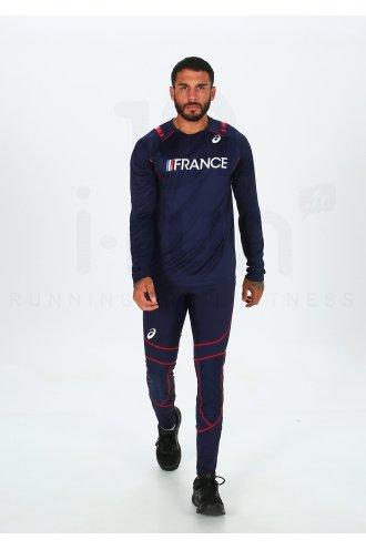 Asics T&F LS Top Équipe de France M