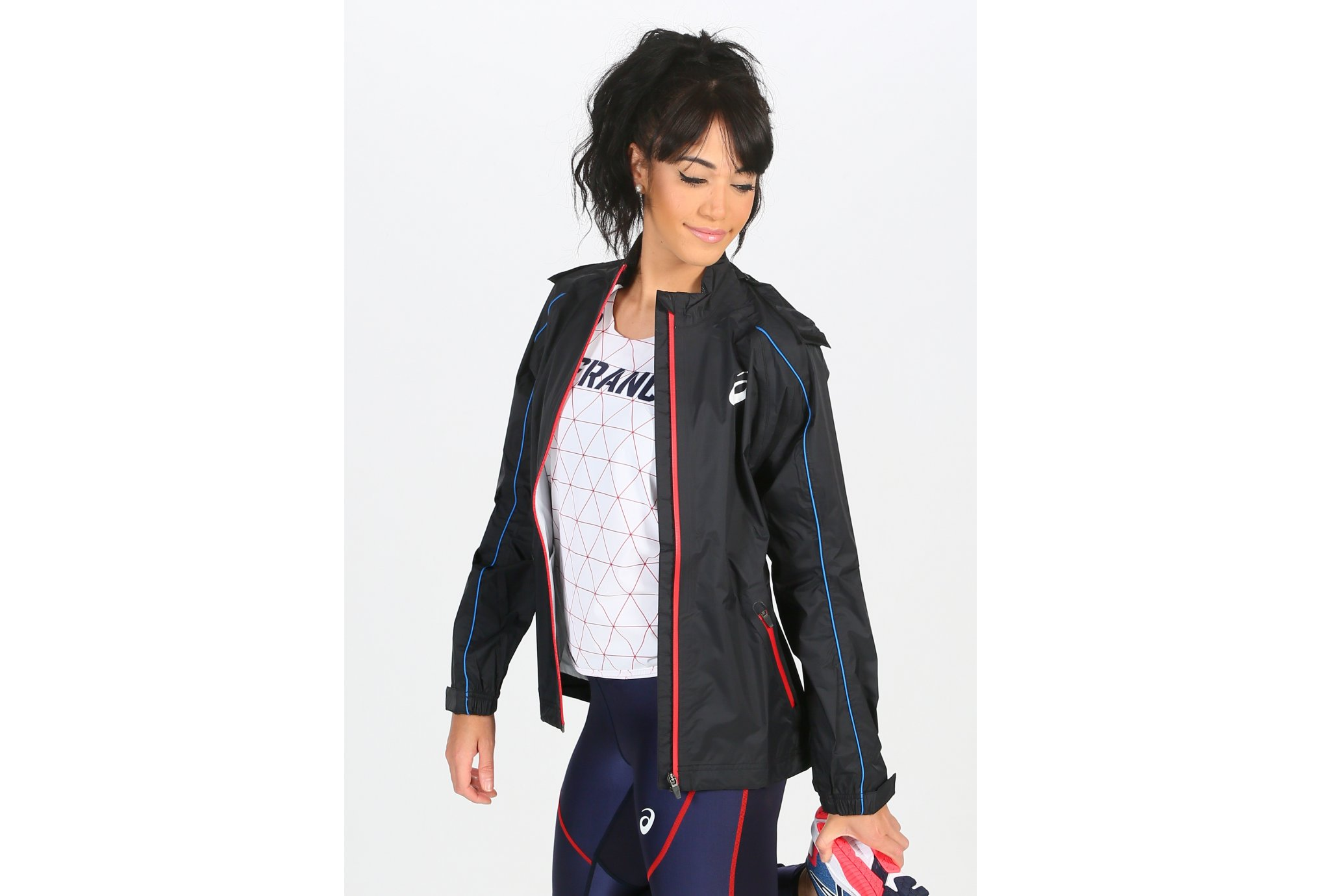 Asics T&F Rain W vêtement running femme