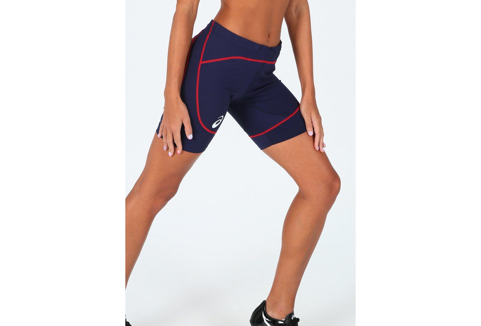 Asics T&F Sprinter Équipe de France W vêtement running femme