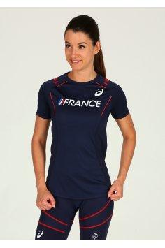Asics Tee-shirt Équipe de France W