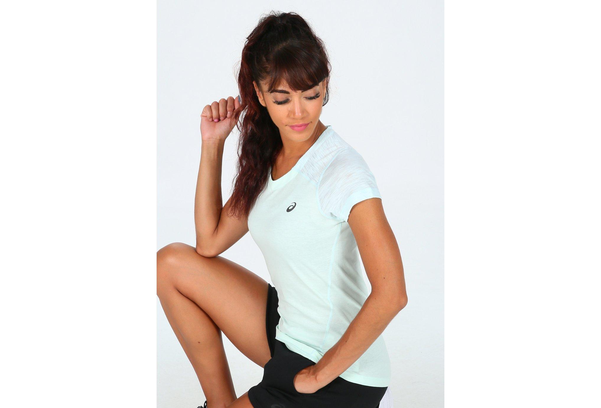 Asics Tee-shirt FuseX W Diététique Vêtements femme
