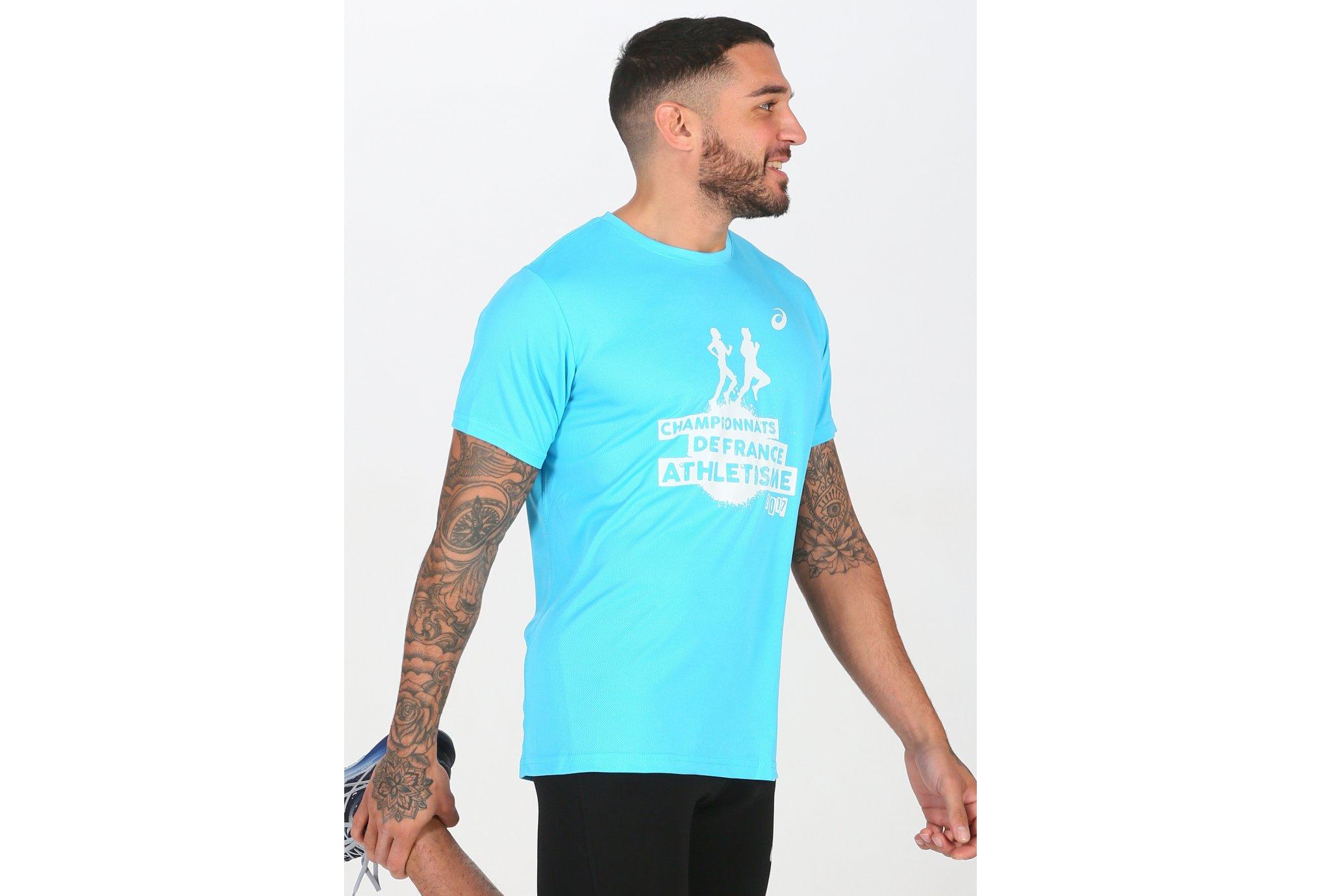 Asics Tee-Shirt Souvenir M vêtement running homme