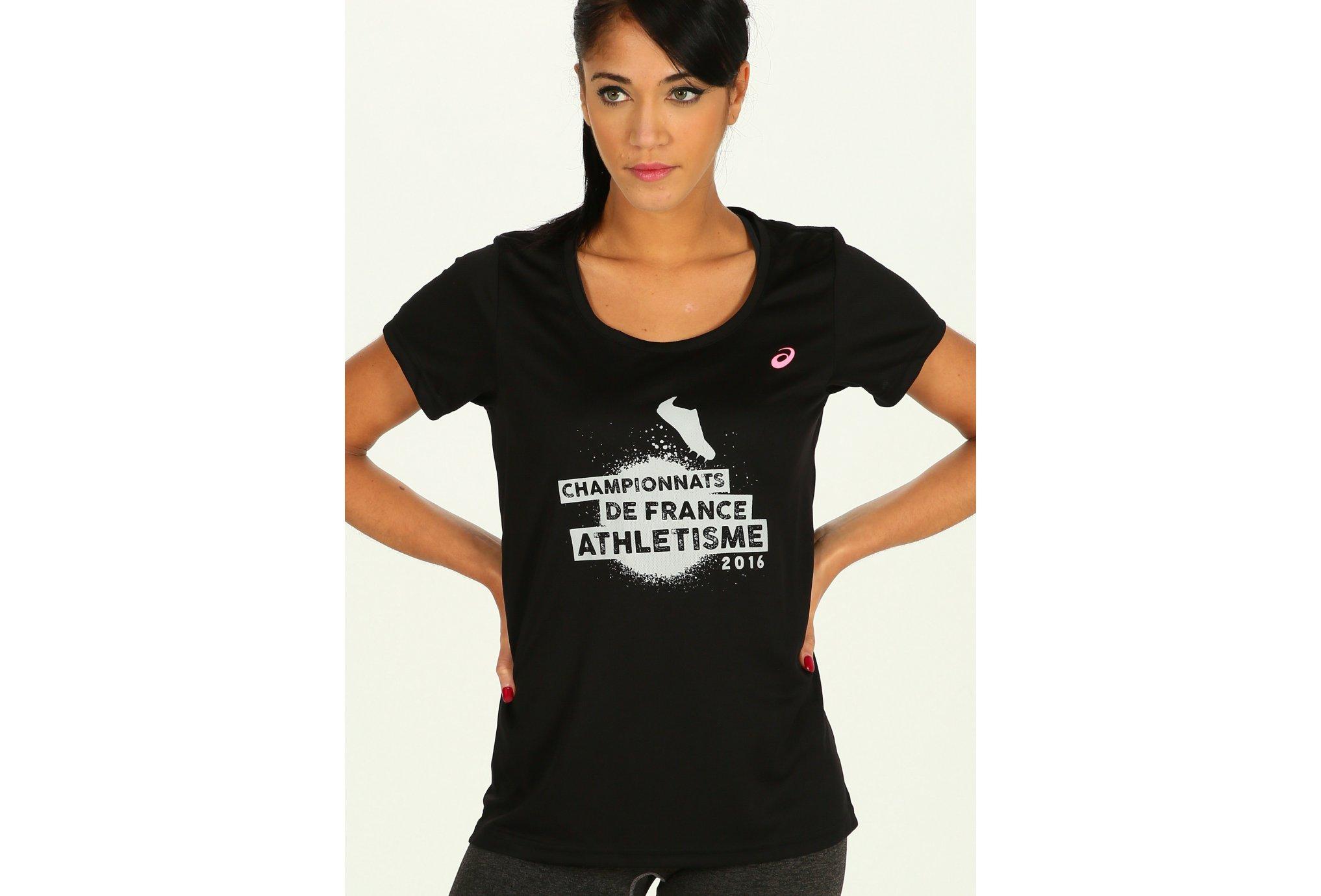 Asics Tee-Shirt W vêtement running femme