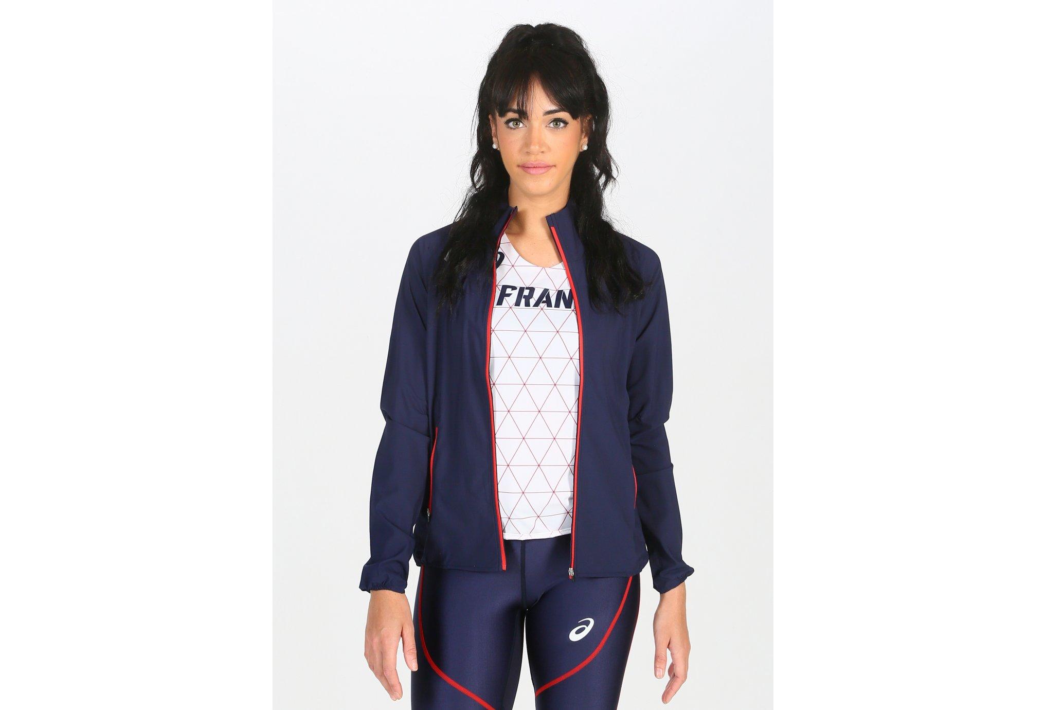 Asics Track France W vêtement running femme