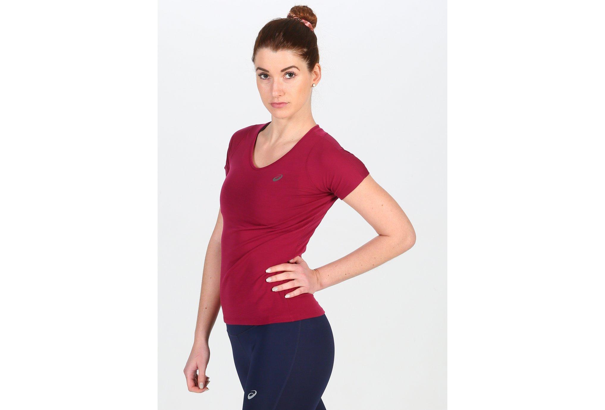 Asics V-Neck W vêtement running femme