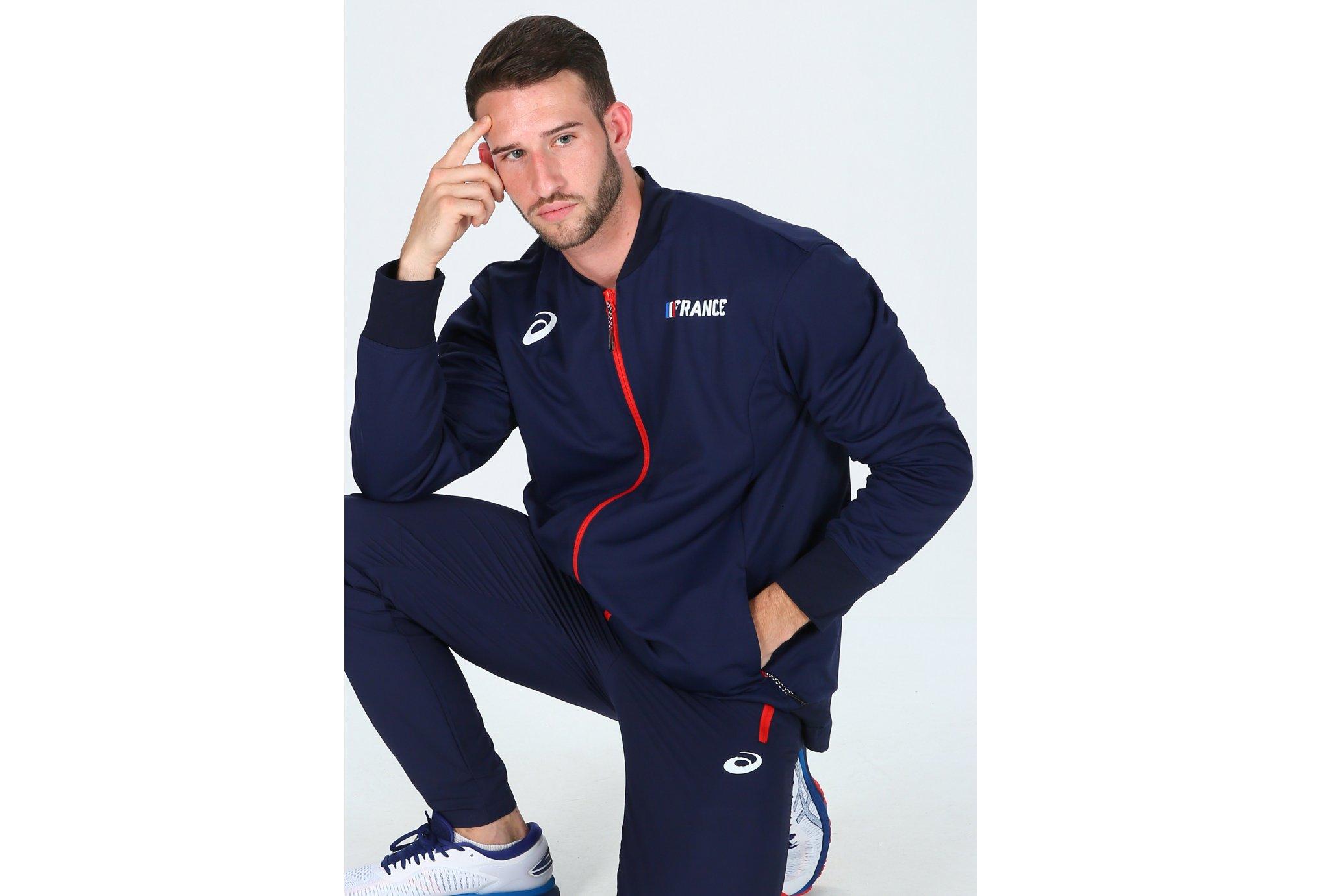 Asics Warm Up France M vêtement running homme