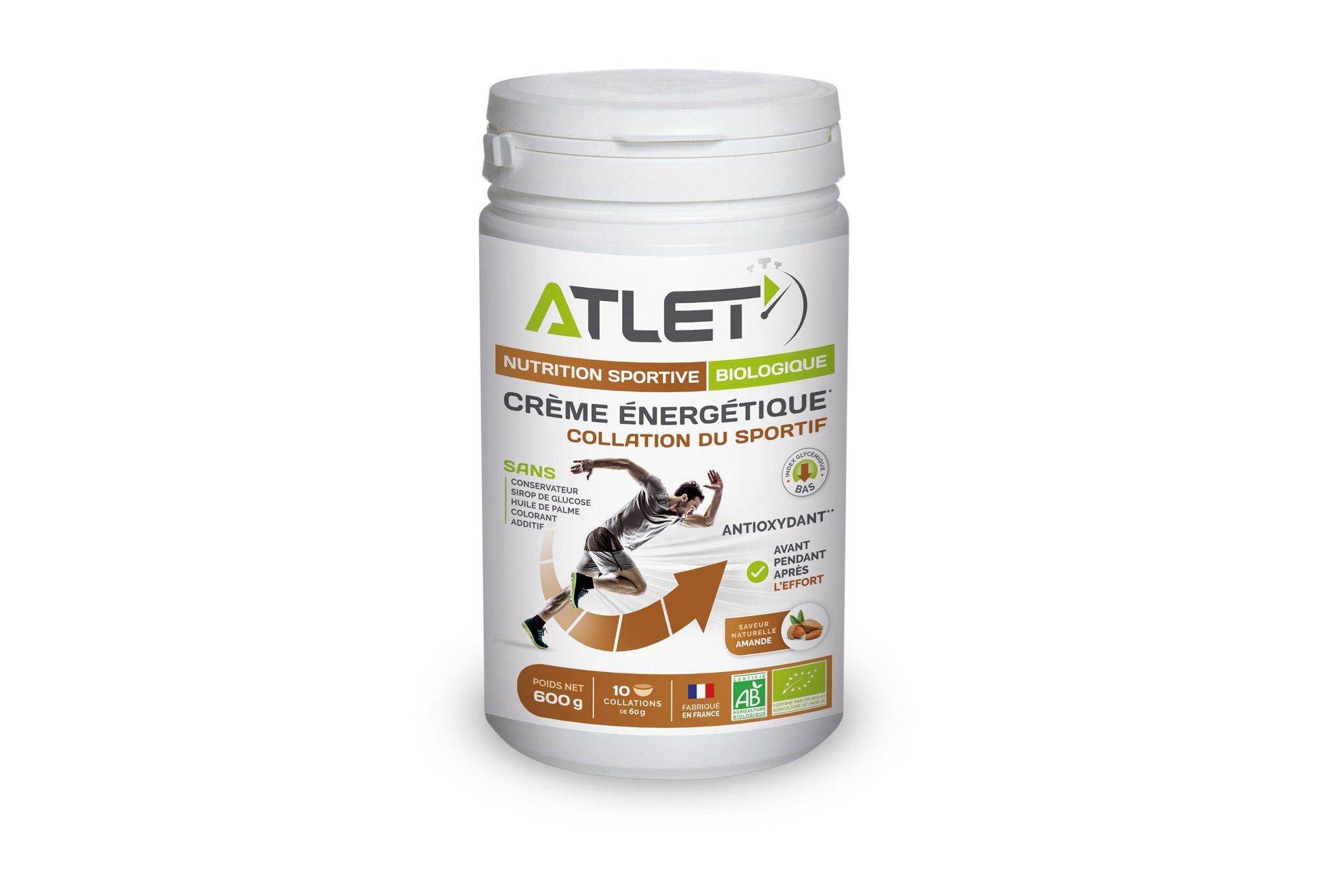 Atlet Crème Énergétique - Amande Diététique Préparation