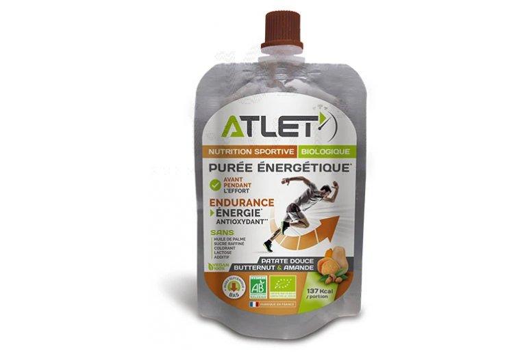 Atlet Purée énergétique Bio - Butternut-Patate Douce-Amande