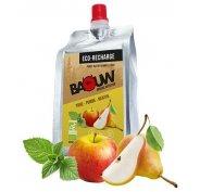 Baouw Eco recharge XXL purée nutritionnelle bio - Poire - Pomme - Menthe