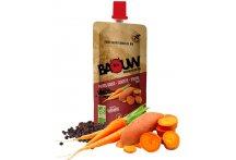 Baouw Purée nutritionnelle bio - Patate douce - Carotte - Poivre Timut
