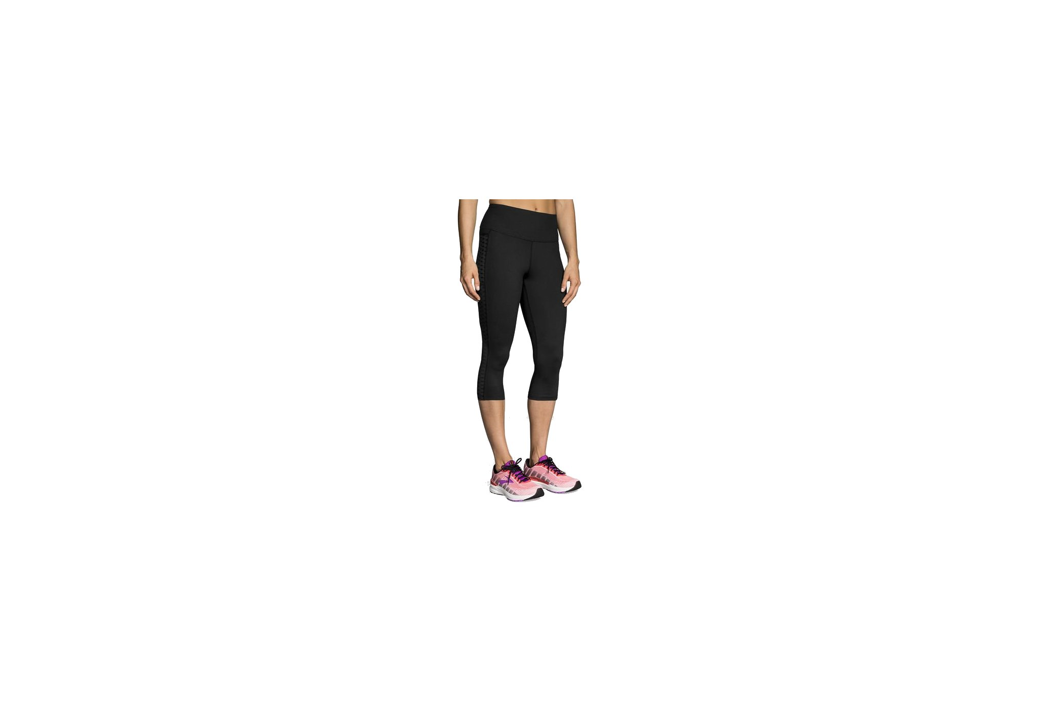 Brooks mallas 3/4 Greenlight vêtement running femme