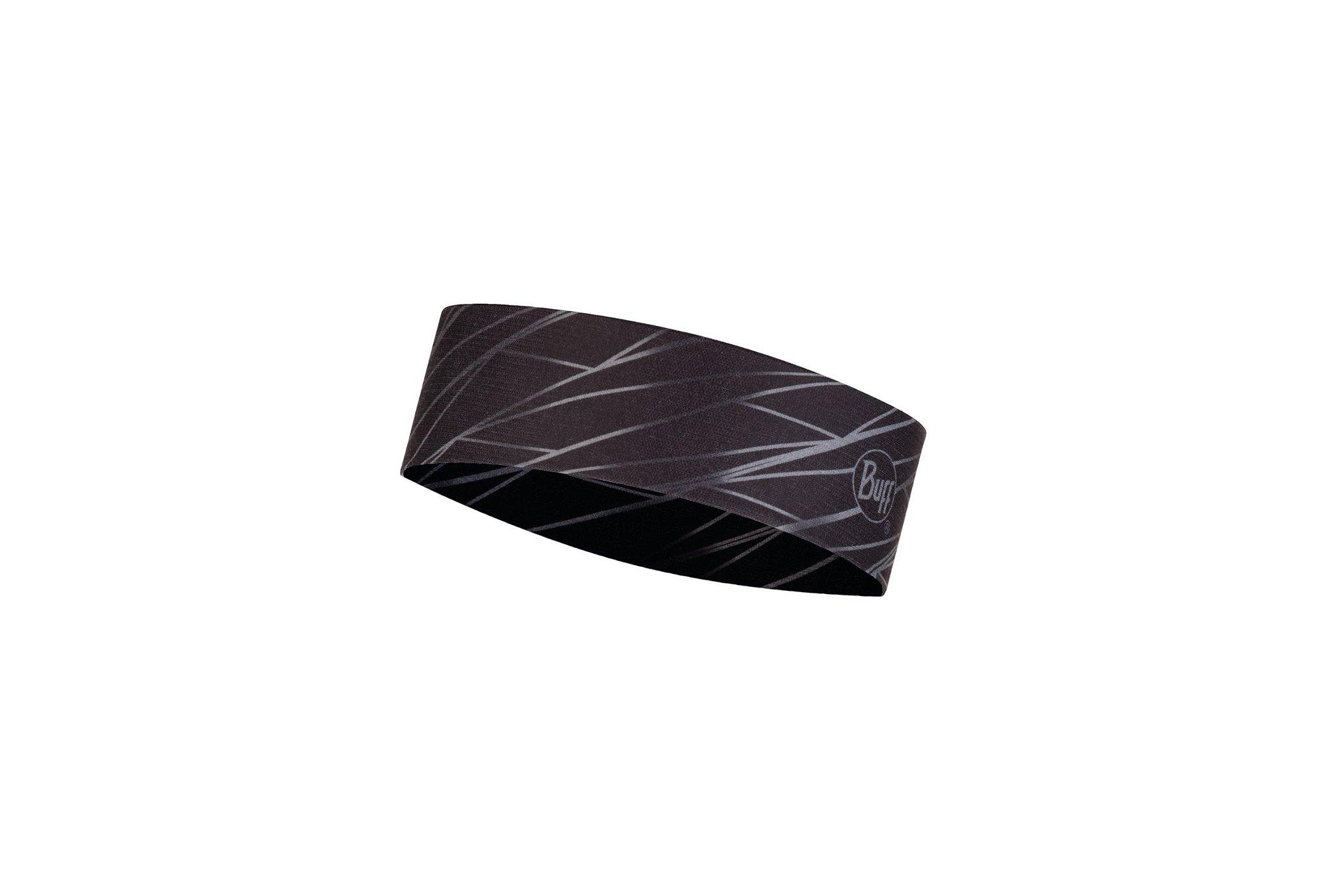 Buff Coolnet UV+ Slim Headband Boost Graphite Casquettes / bandeaux
