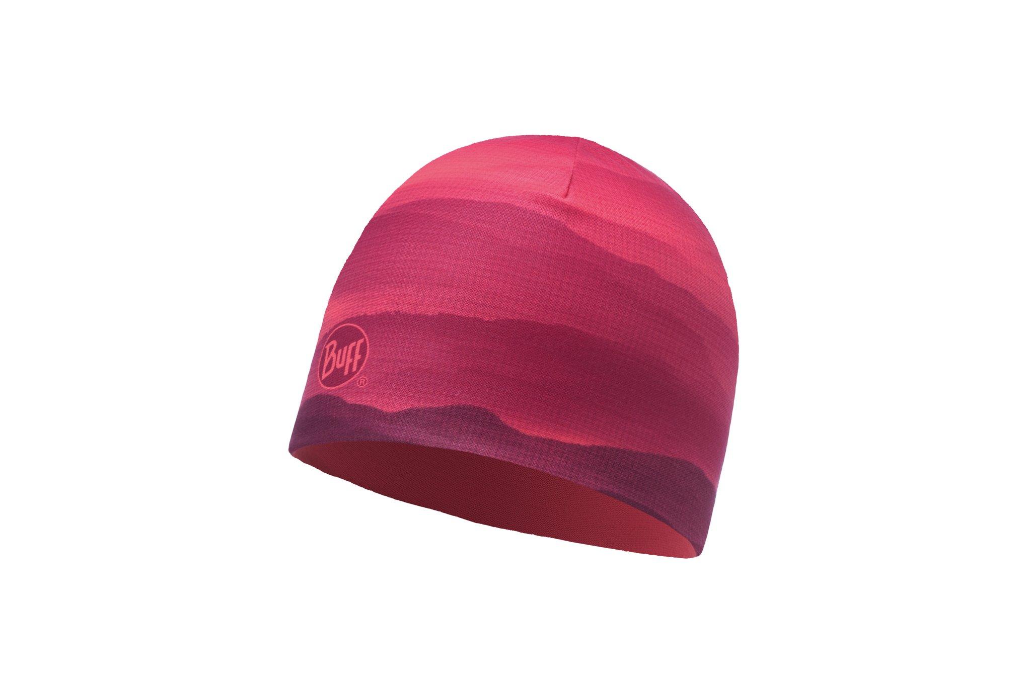 Buff Microfiber Reversible Soft Hills Pink Fluor Bonnets / Gants