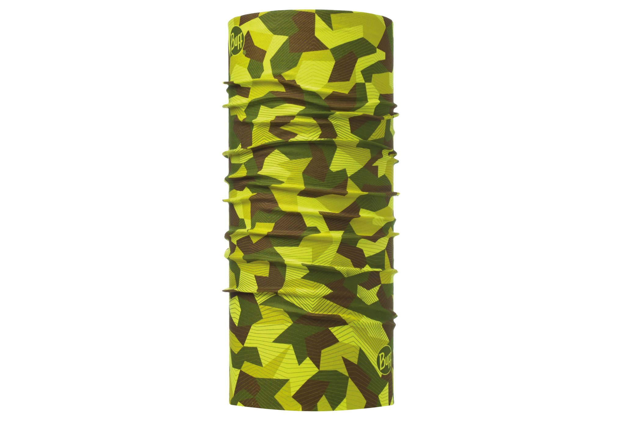 Buff Original block camo green tours de cou