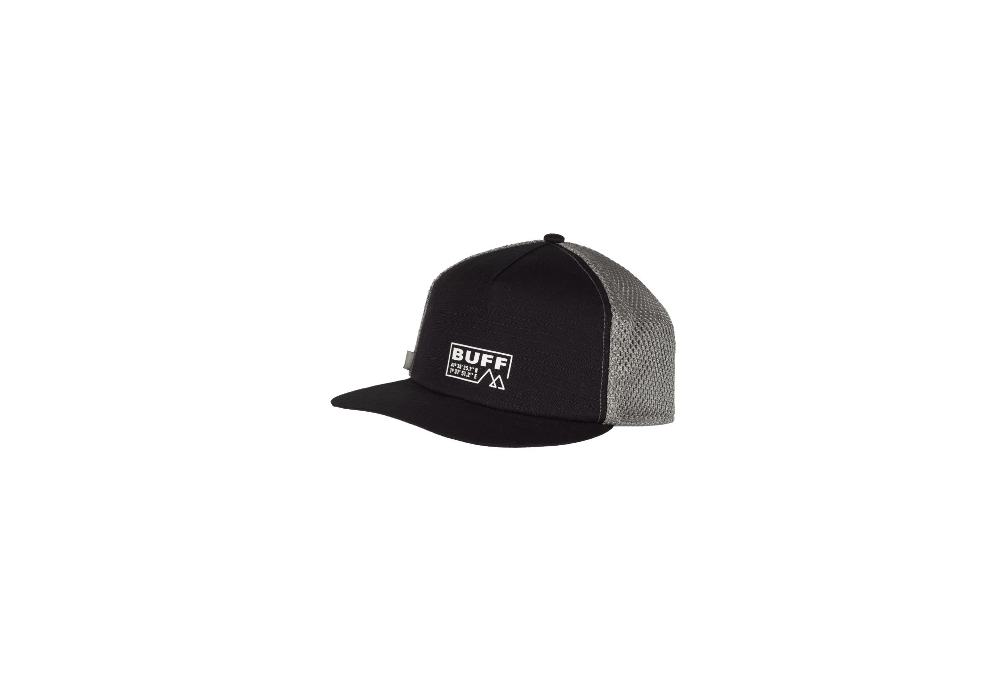 Buff Pack Trucker Cap Solid Black Casquettes / bandeaux
