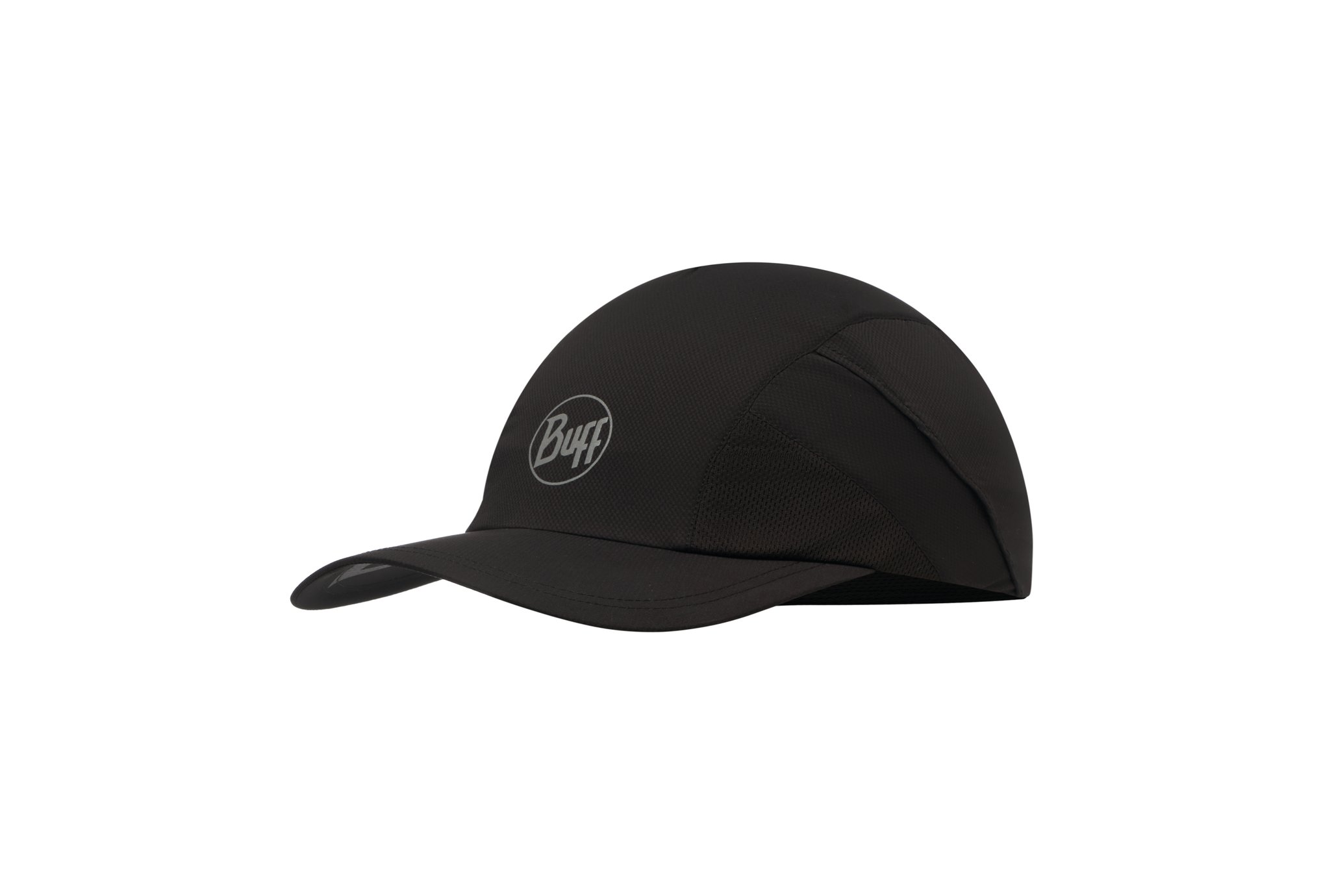 Buff Pro Run Cap R-Solid Black Casquettes / bandeaux