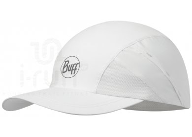 Buff Pro Run Cap R-Solid White