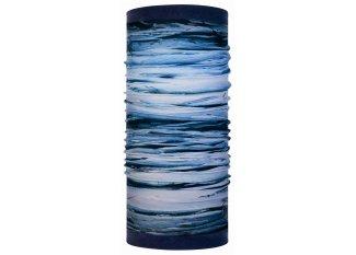 Buff tubular Reversible Polar Tide Blue