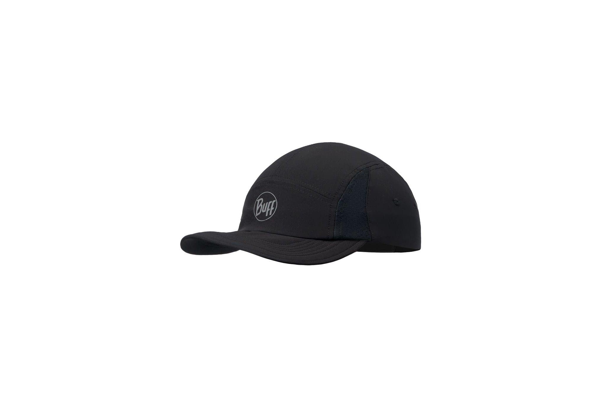 Buff Run Cap R-Solid Black Casquettes / bandeaux