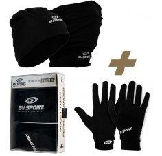 BV Sport Bonnet multifonctions et gants Running