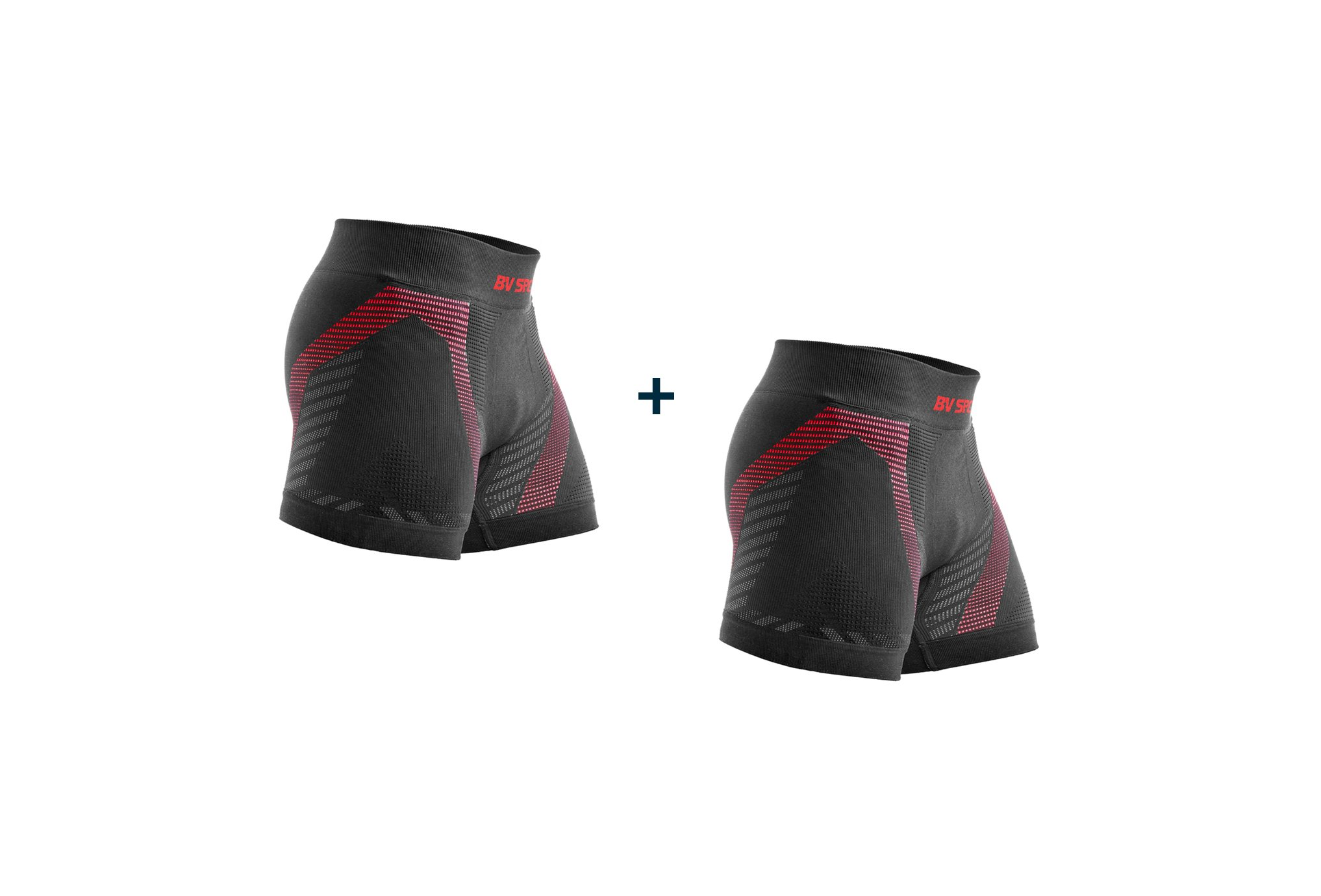 BV Sport Pack de 2 Boxers Rtech M vêtement running homme