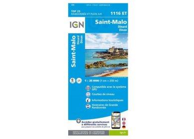 Carte IGN 1116ET Saint-Malo