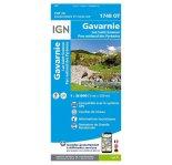 Carte IGN Gavarnie 1748OT