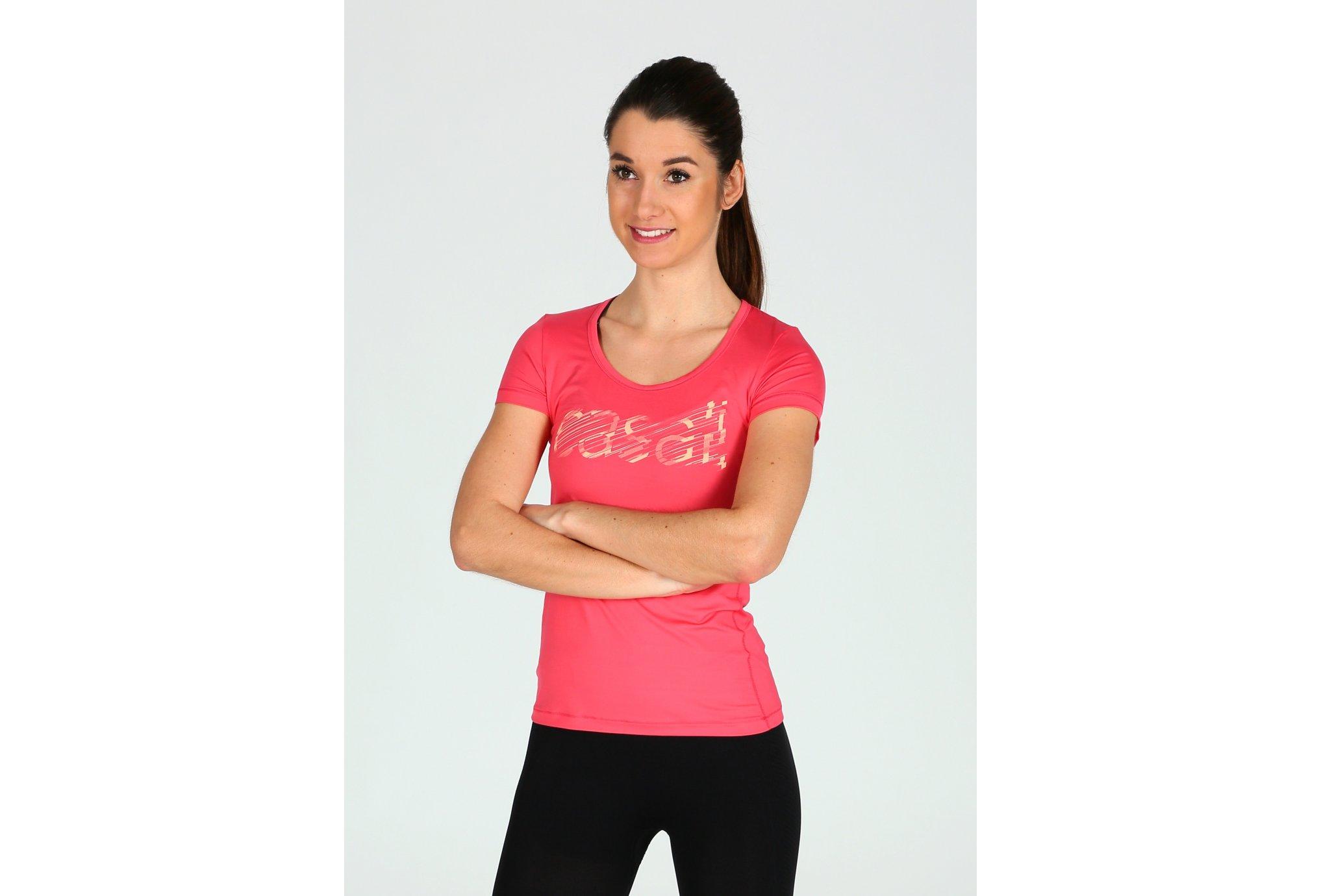 Casall Tee-shirt Logo W Diététique Vêtements femme