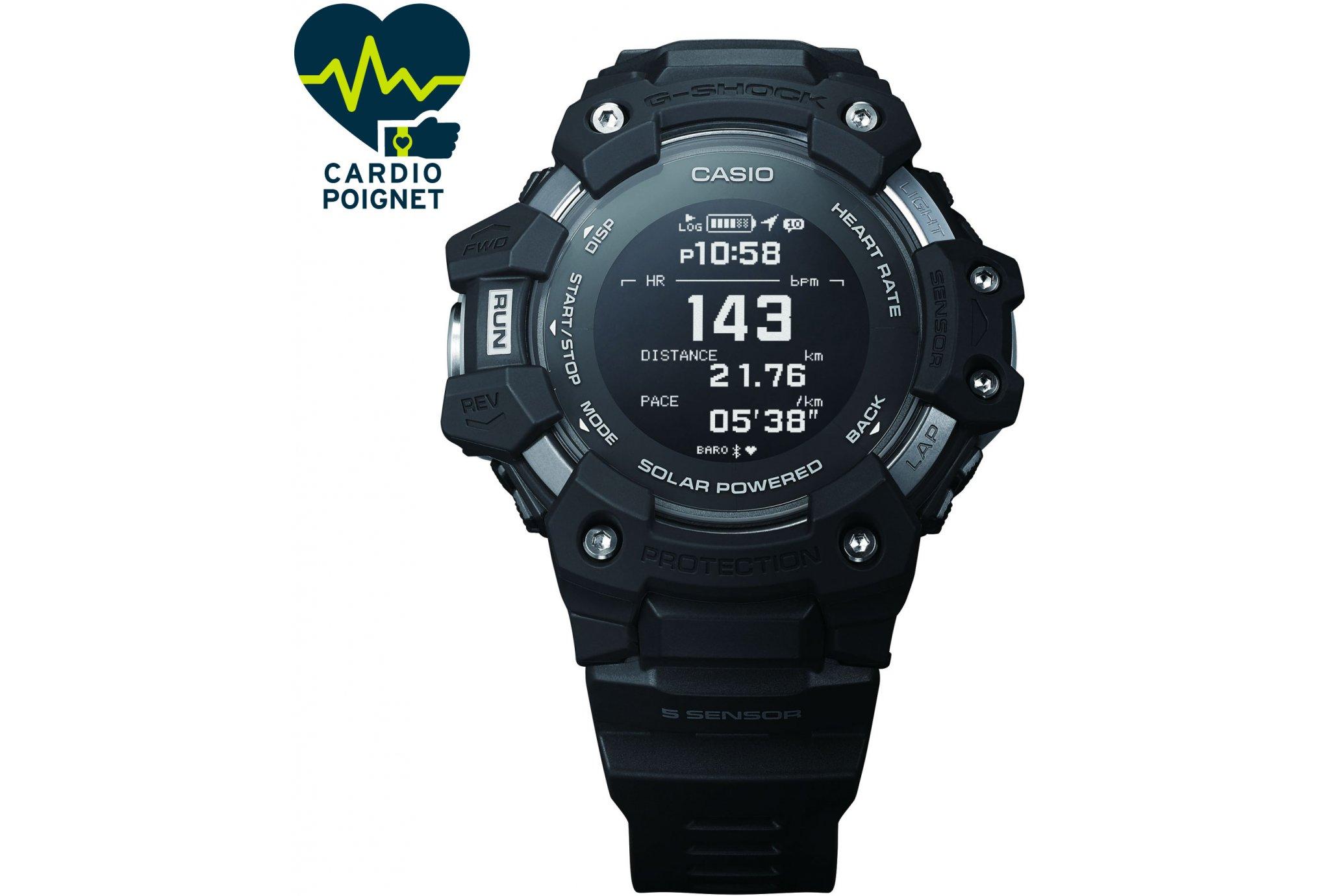 Casio G-SQUAD HR GBD-H1000-1ER Cardio-Gps