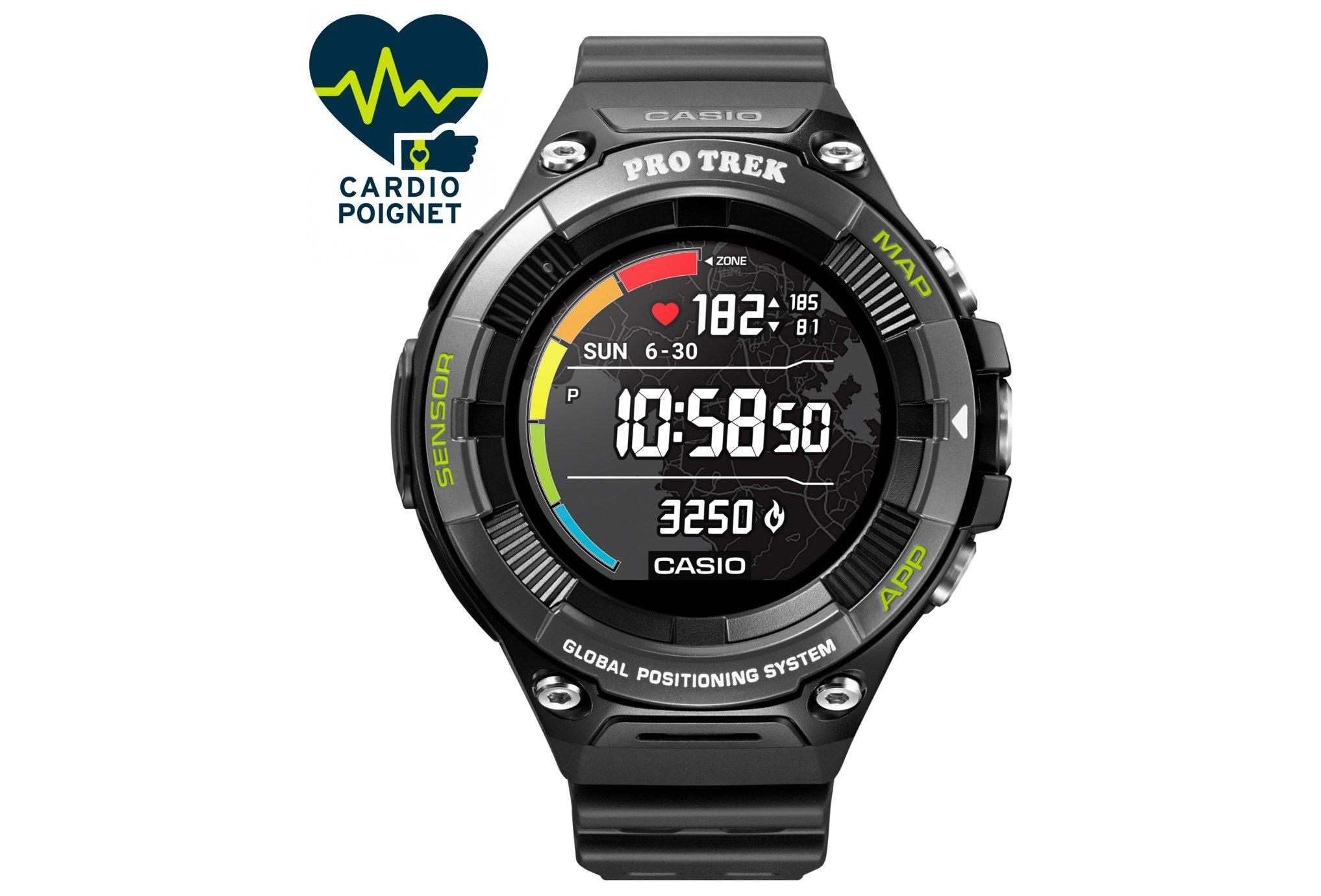 Casio Pro Trek Smart WSD-F21HR Cardio-Gps
