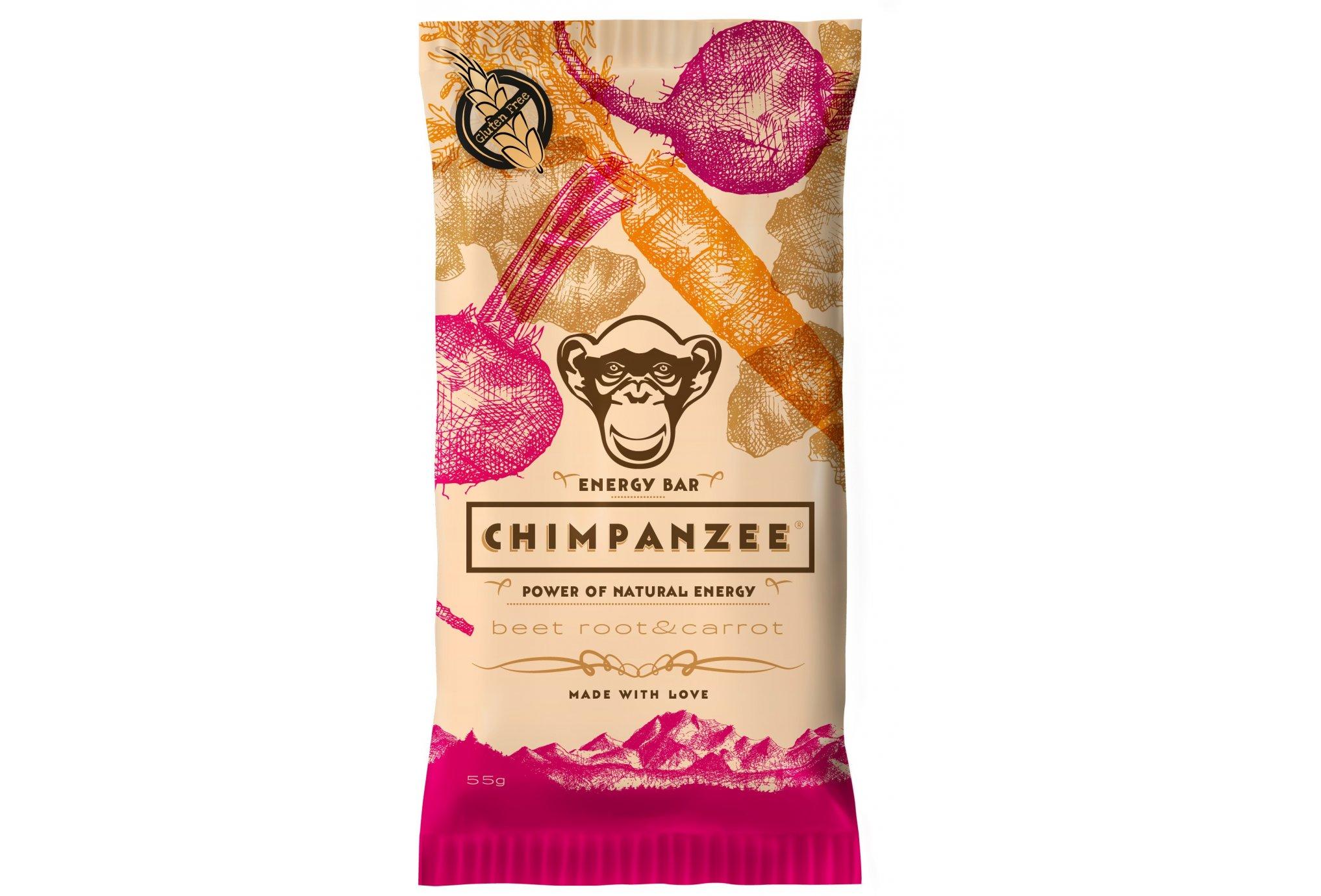 Chimpanzee Barre énergétique - Betterave/Carotte Diététique Barres