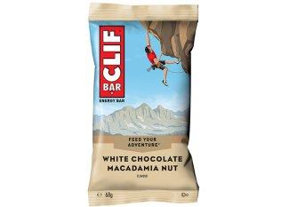 Clif Barra energética - Chocolate blanco / nueces de Macadamia