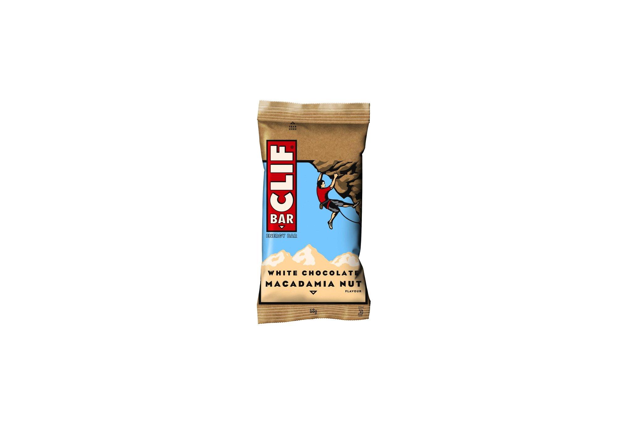 Clif Barra energética - Chocolate blanco / nueces de Macadamia Diététique Barres