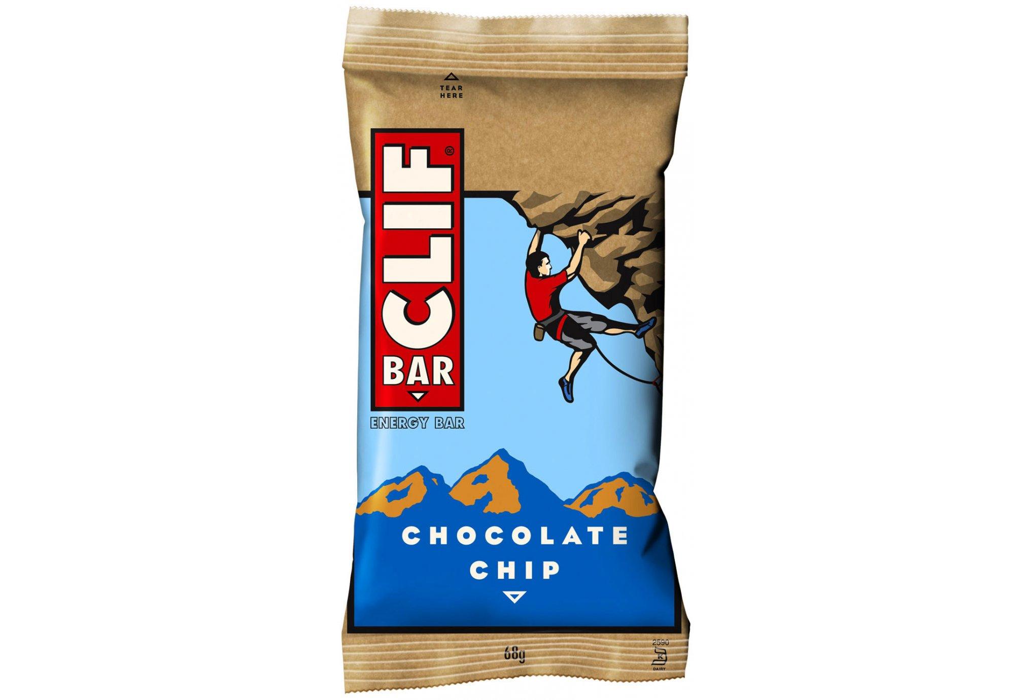 Clif Barra energética - Pepitas de chocolate Diététique Barres