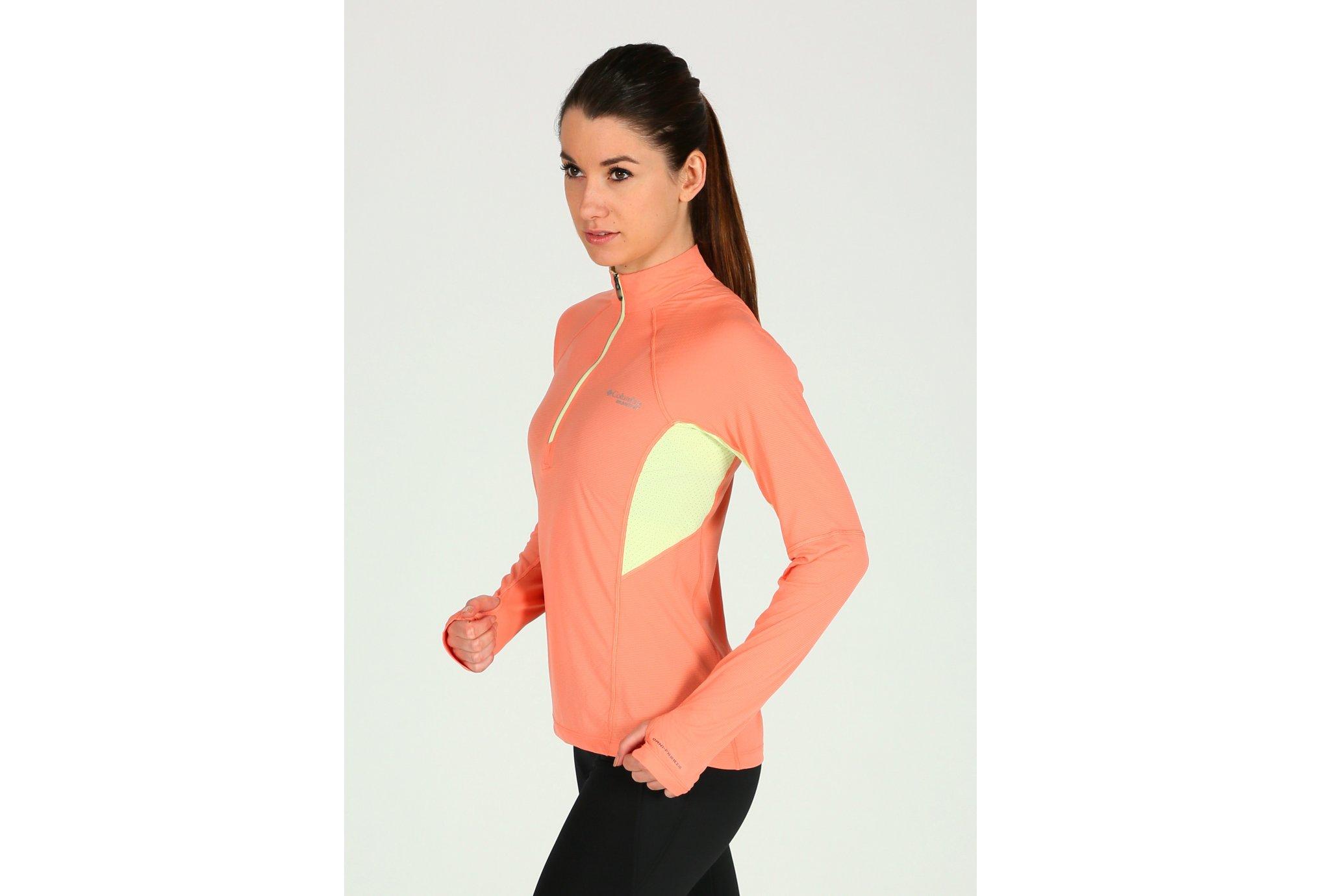 Columbia Titan Ultra demi-zip W Diététique Vêtements femme