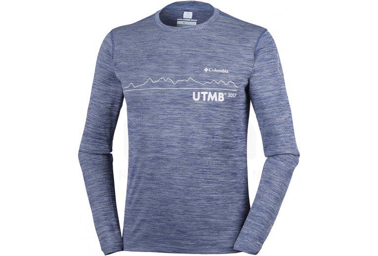 78e5325b Columbia Camiseta manga larga Zero Rules II UTMB