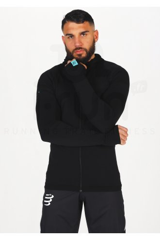 Compressport 3D Thermo Seamless Hoodie Black Edition 2021 M