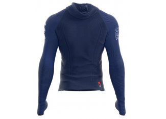 Compressport Camiseta manga larga 3D Thermo Seamless Hoodie Kona 2018