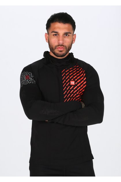 Compressport Camiseta manga larga 3D Thermo Seamless Hoodie