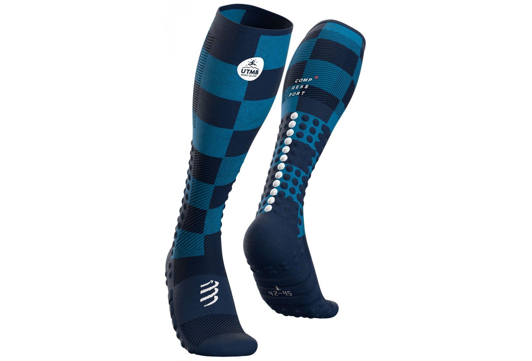 Compressport Full Socks Race & Recovery UTMB 2021 Chaussettes