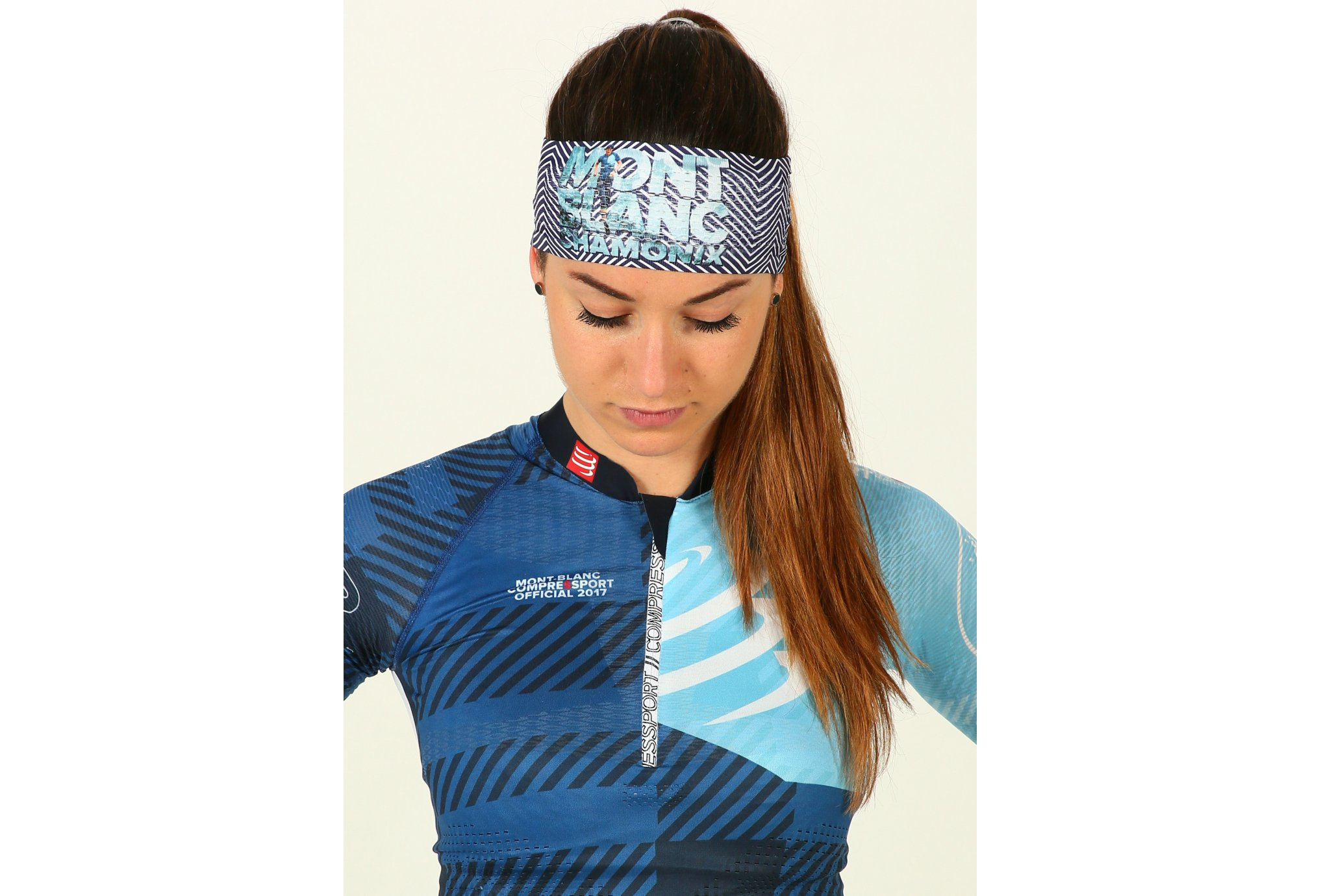 Compressport Headband ON/OFF Mont Blanc 2018 Casquettes / bandeaux