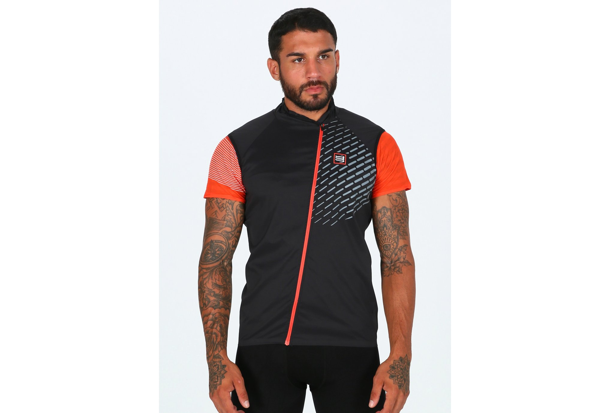 Compressport Chaleco Hurricane Vest V2 vêtement running homme