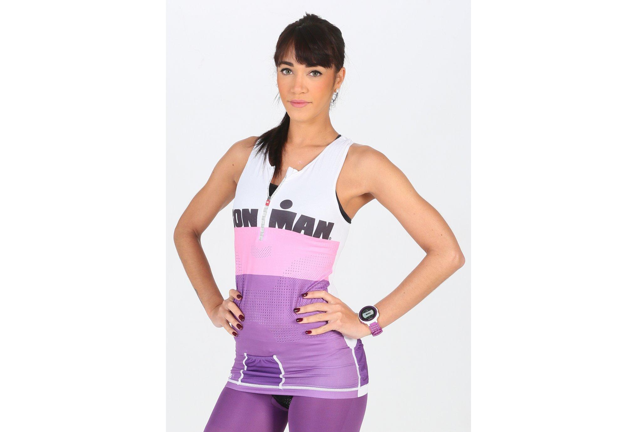 Compressport Ironman TR3 Top W Diététique Vêtements femme