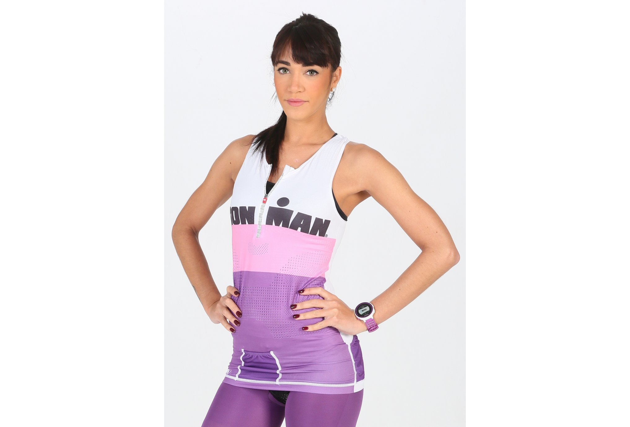 Compressport Ironman TR3 Top W vêtement running femme