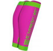 Compressport Manchons R2 V2 Fluo