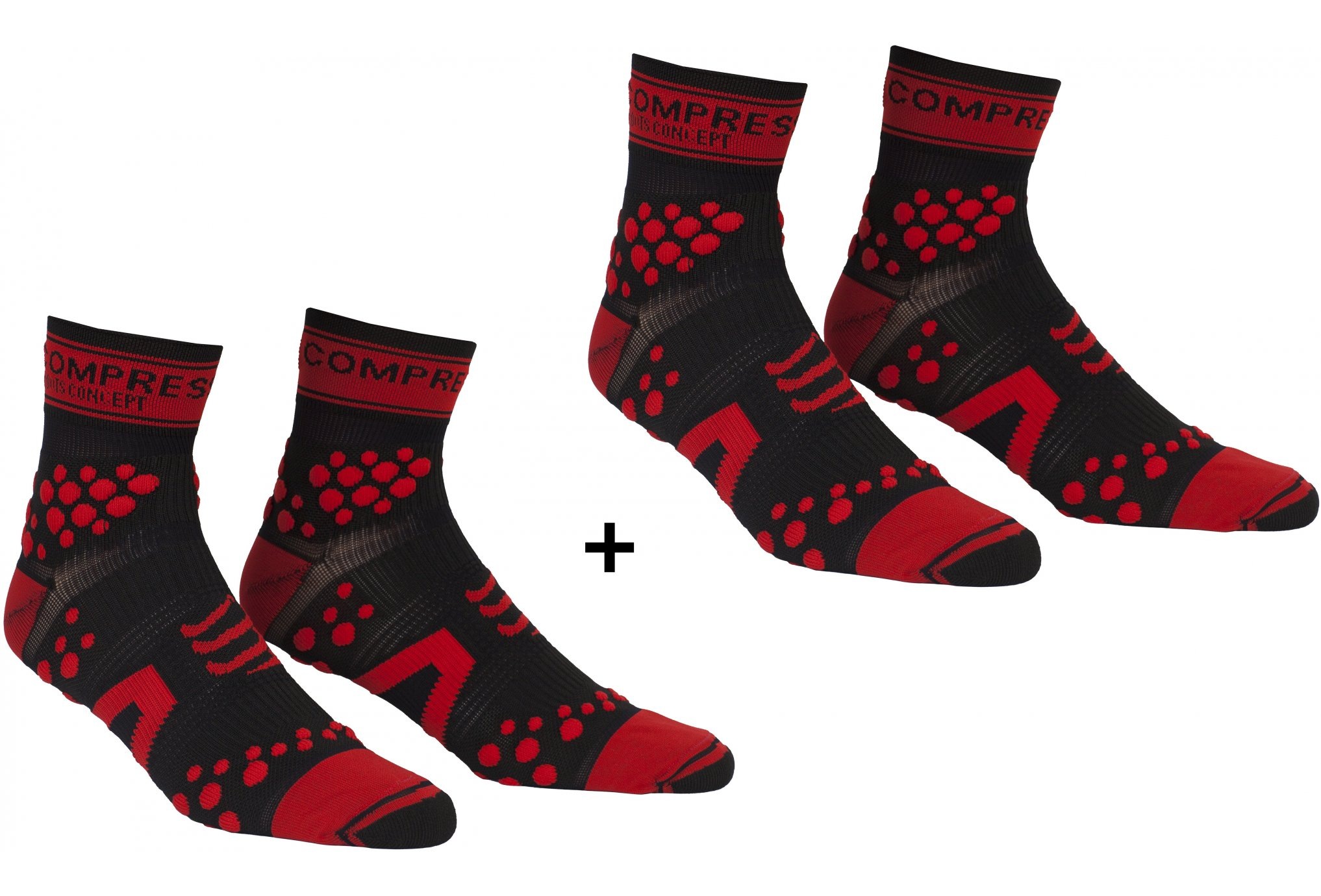 Compressport Pack Pro Racing Trail V2.1 Chaussettes