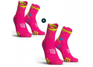 Compressport Pack de calcetines Pro Racing V 3.0 Run High