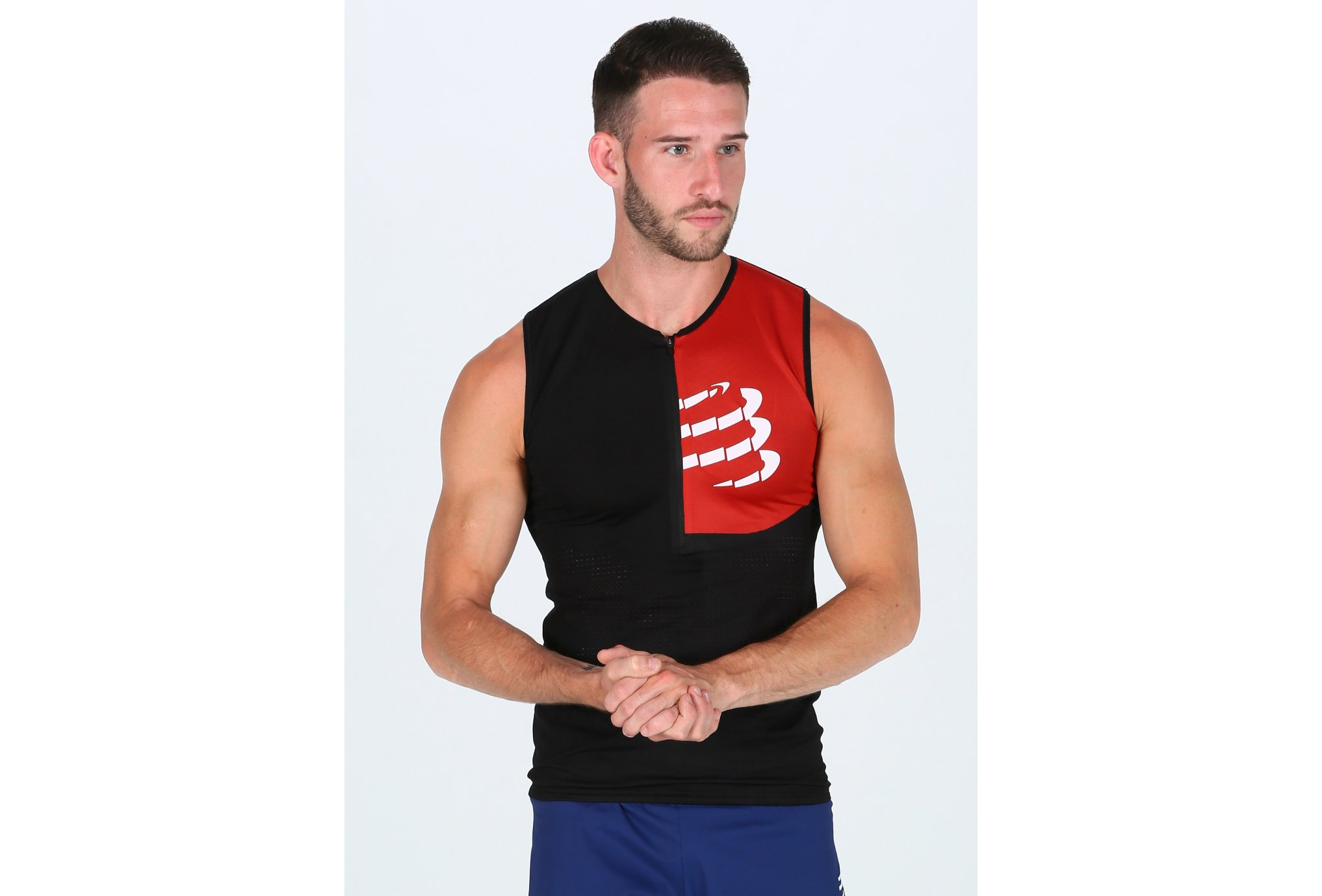 Compressport Postural Ultra M vêtement running homme