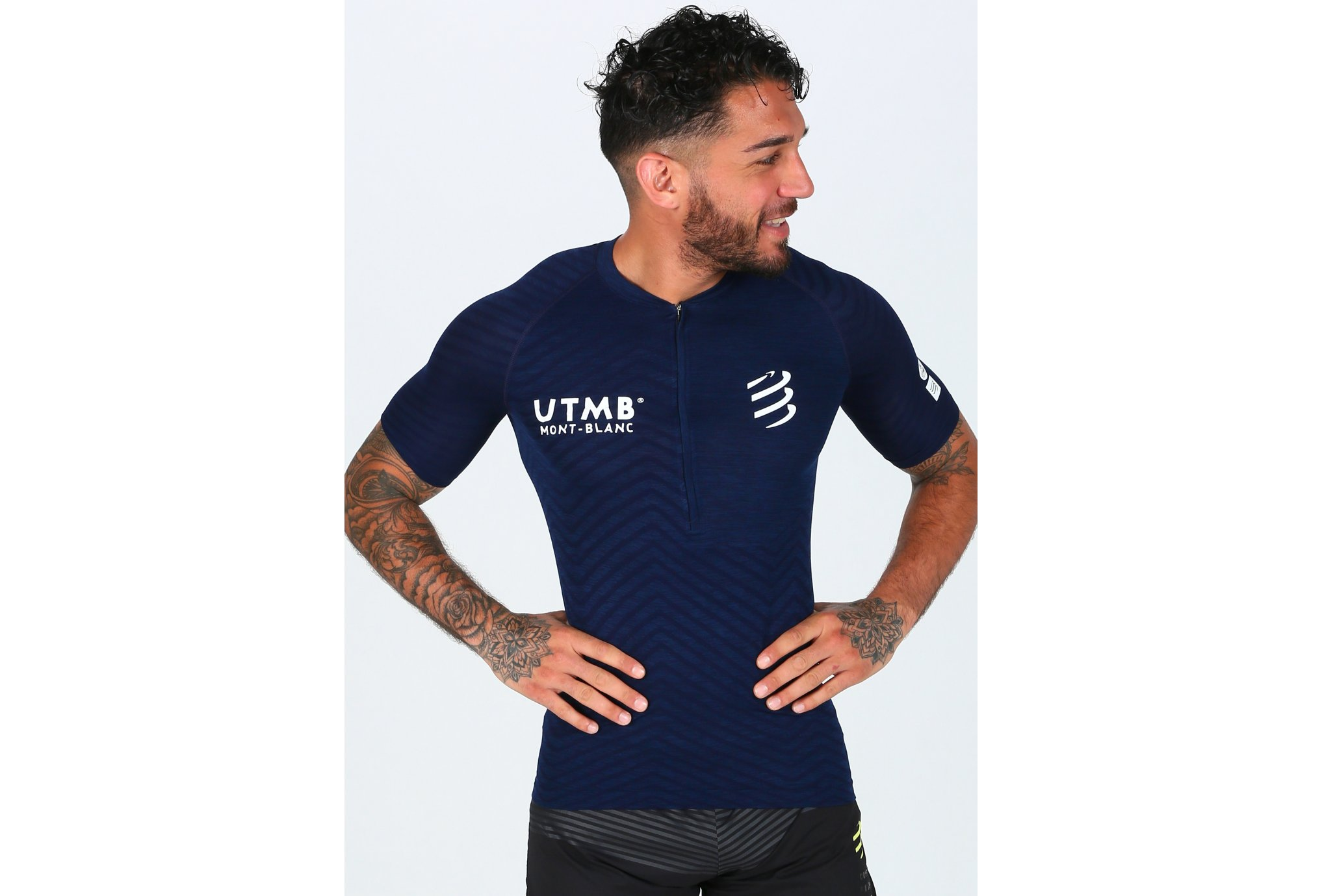 Compressport Postural UTMB M vêtement running homme