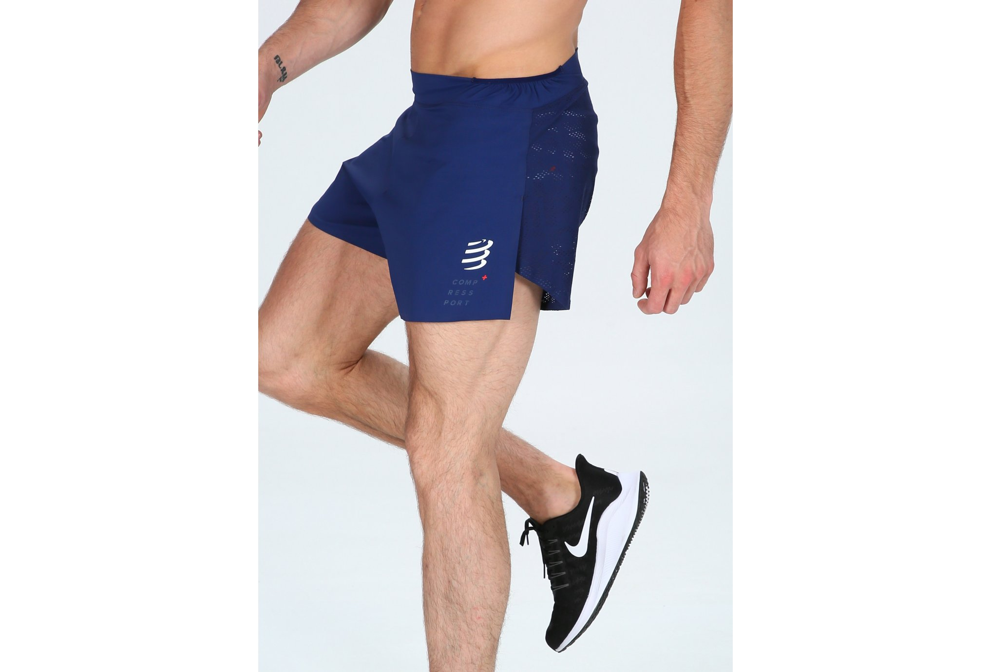 Compressport Racing Split Overshort M vêtement running homme